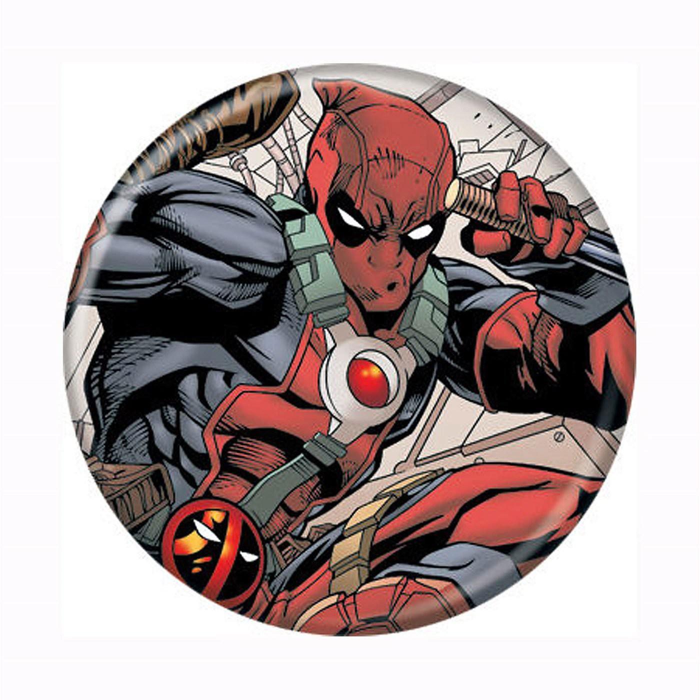 Deadpool Fighting Button