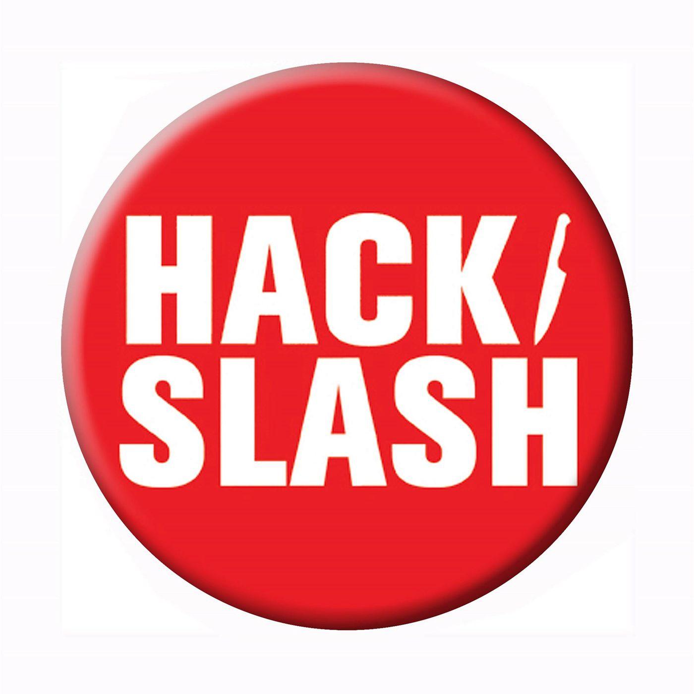 Hack Slash Logo Button
