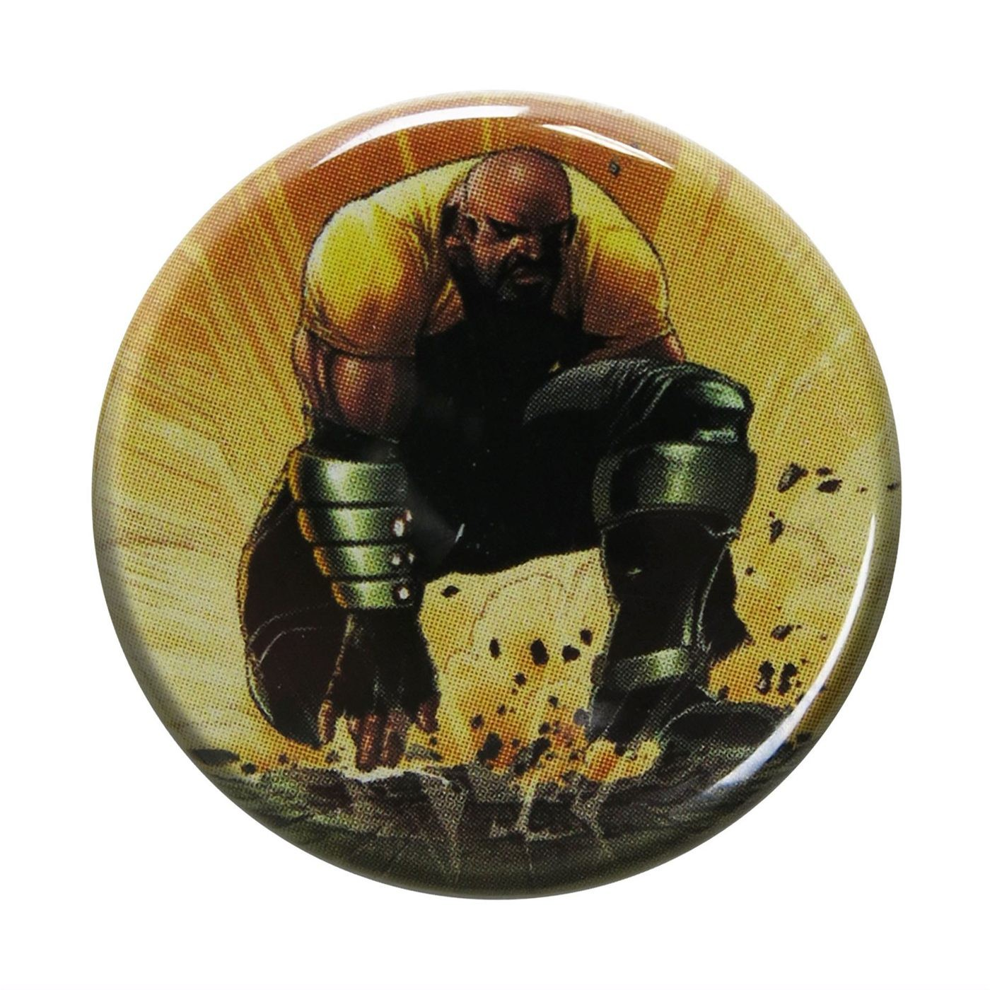Luke Cage Fist Pound Button