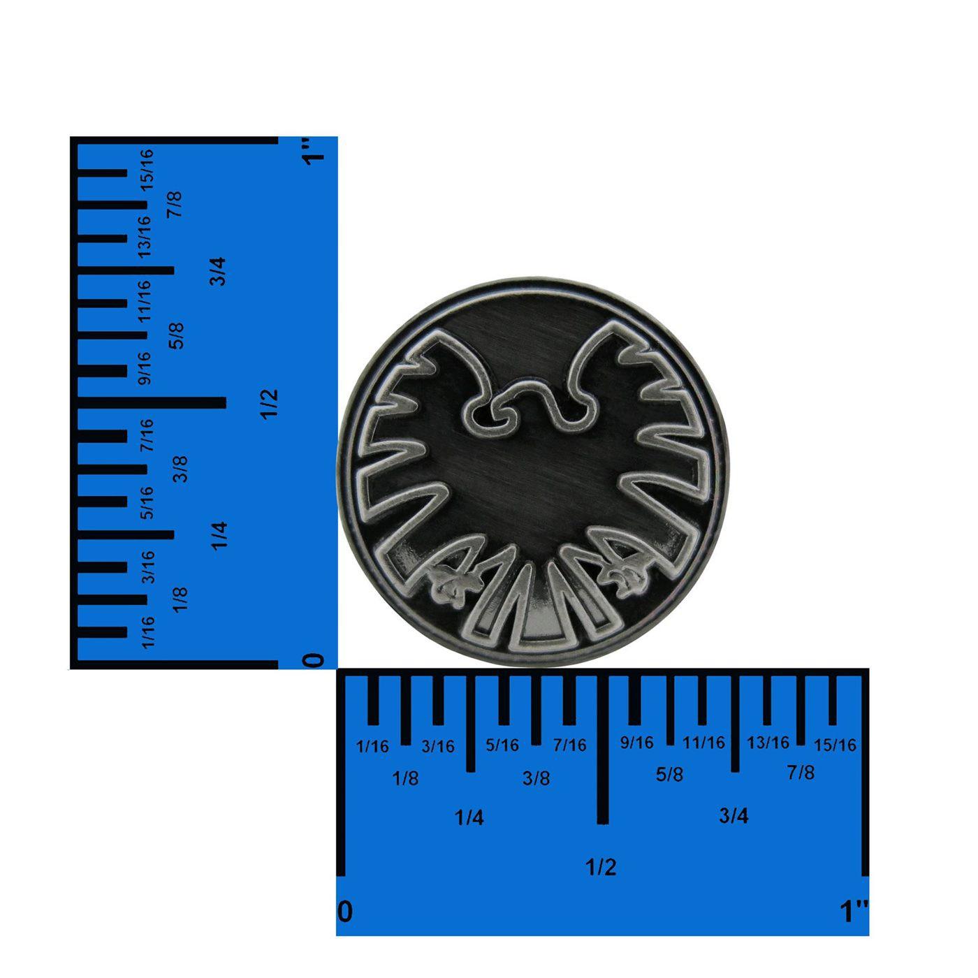 S.H.I.E.L.D. Symbol Pewter Lapel Pin