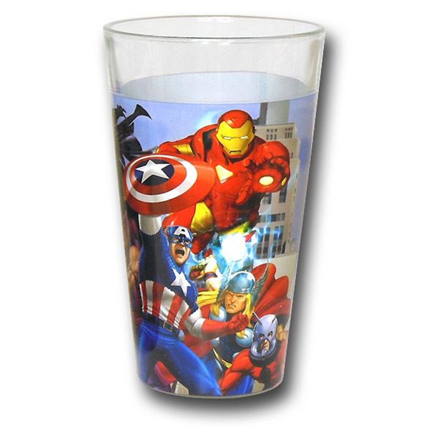 Marvel Group Wrap Pint Glass 2-Pack