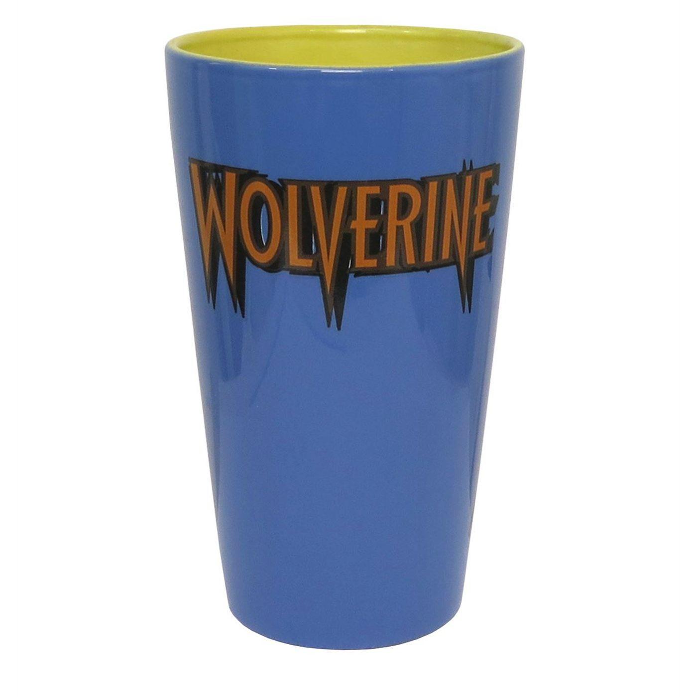 Wolverine Battle Ready Pint Glass