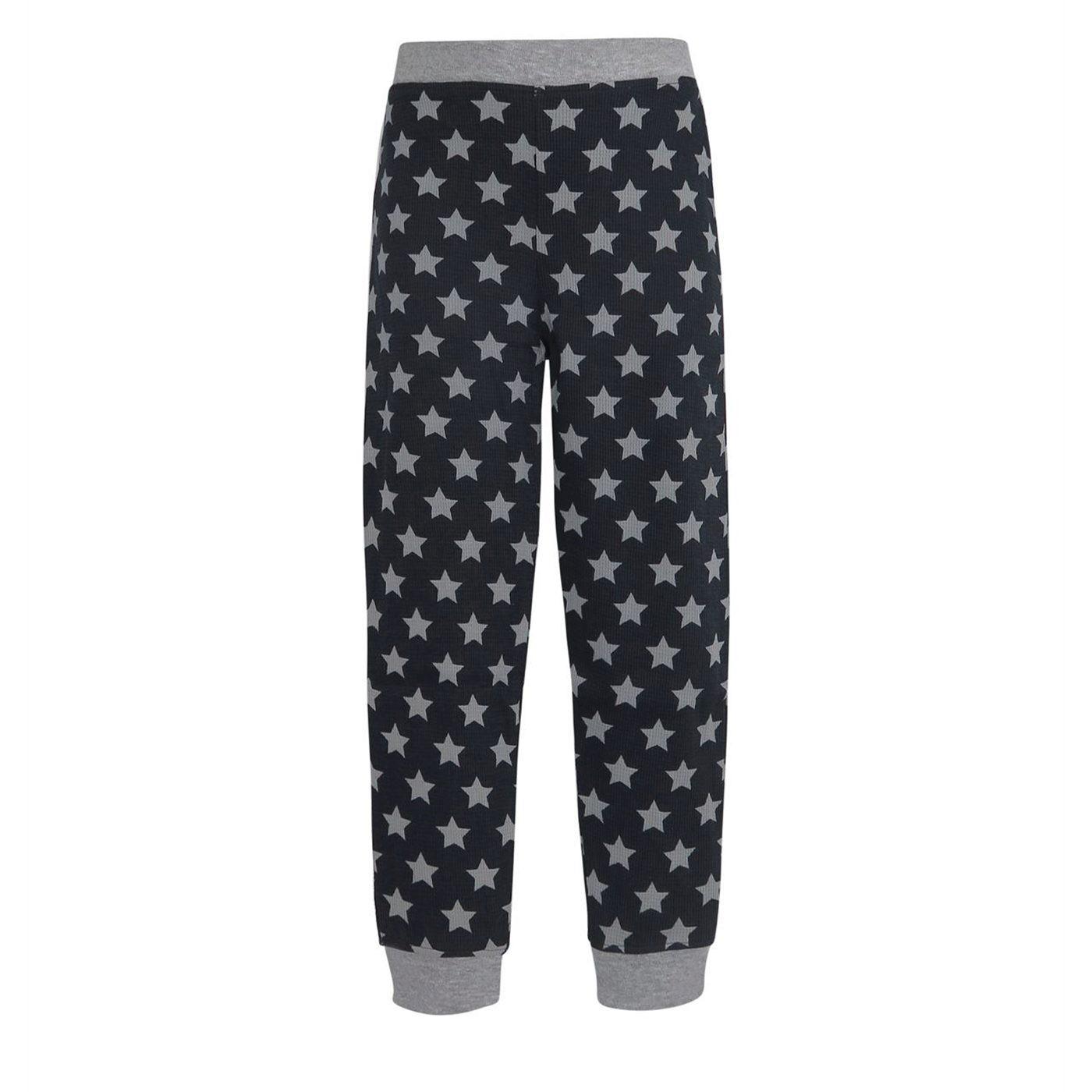 Batgirl Retro Girl's Thermal Pajama Set