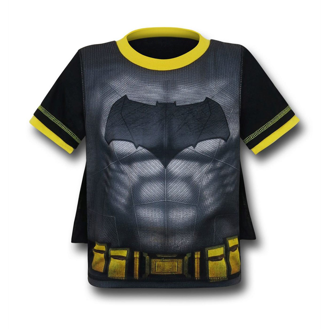 Batman Kids Caped Pajama Set with Shorts