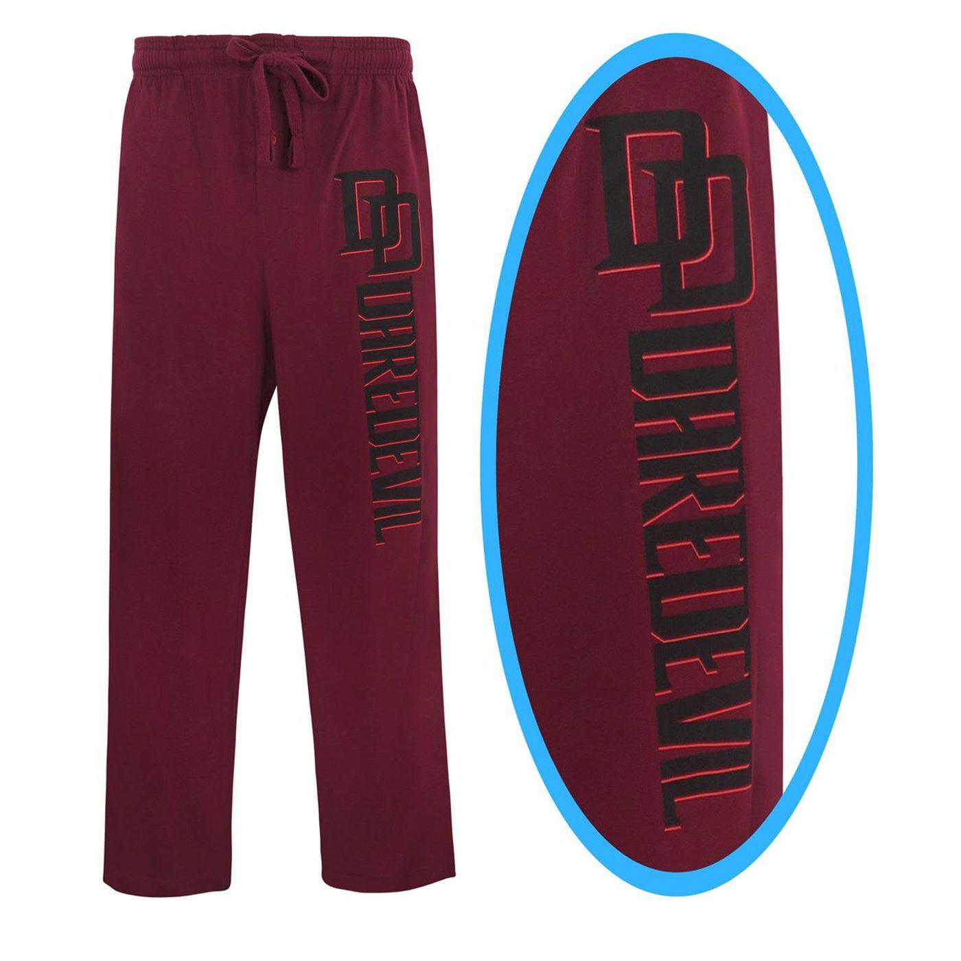 Daredevil Logo Hell's Kitchen Men's Pajama Pants