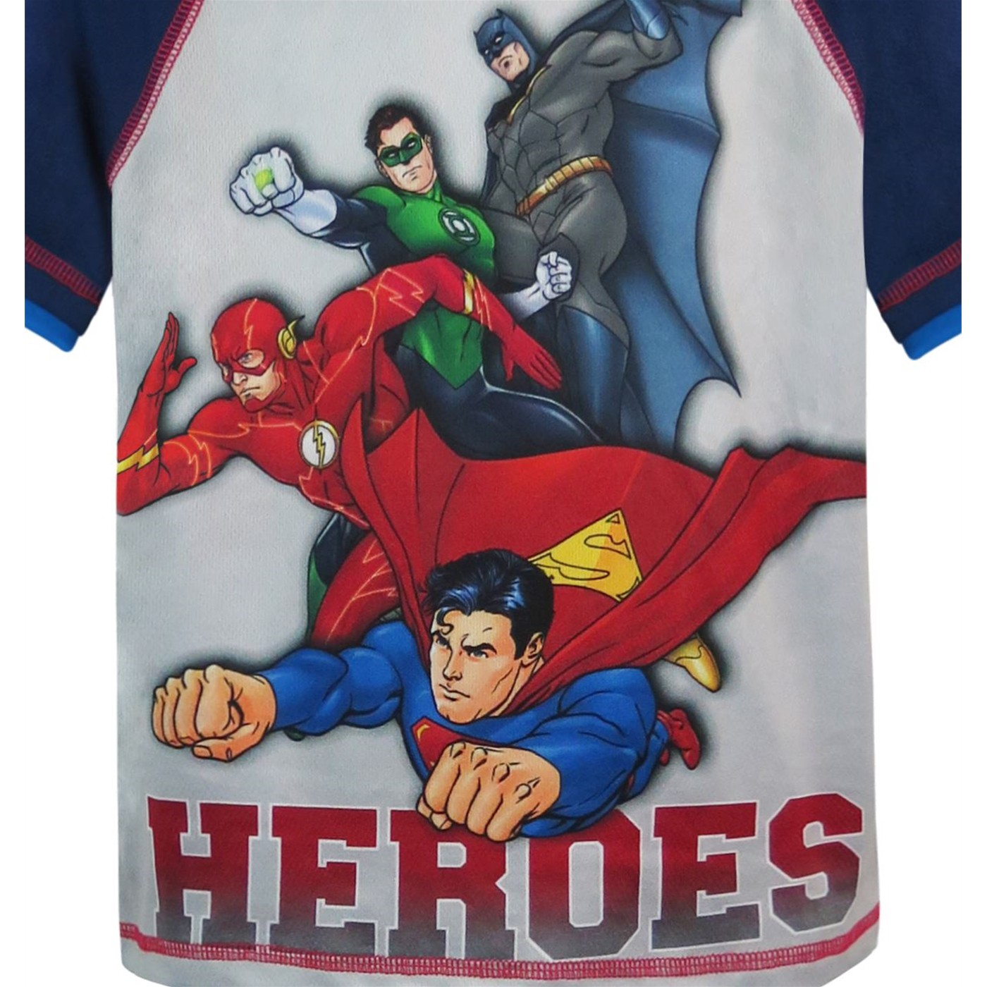 Justice League Heroes Juvenile Top & Short Set