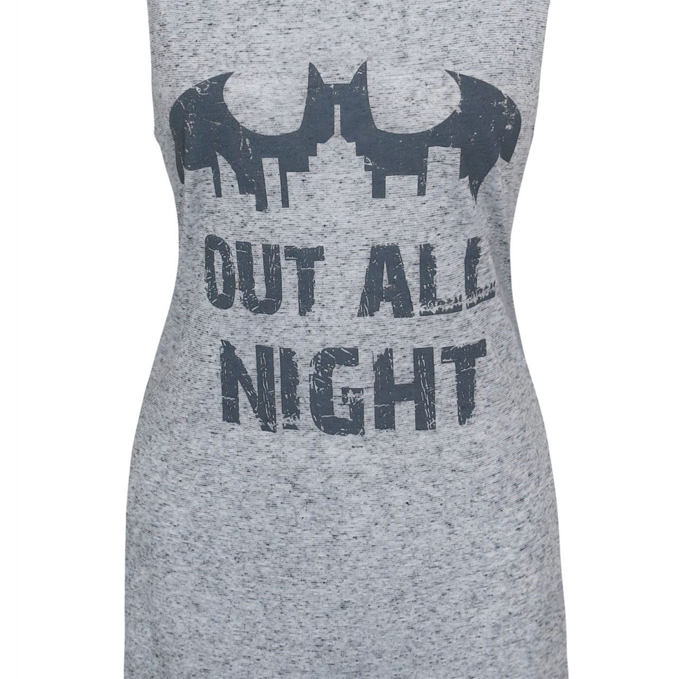 Batman Out All Night Women's Sleep Tank