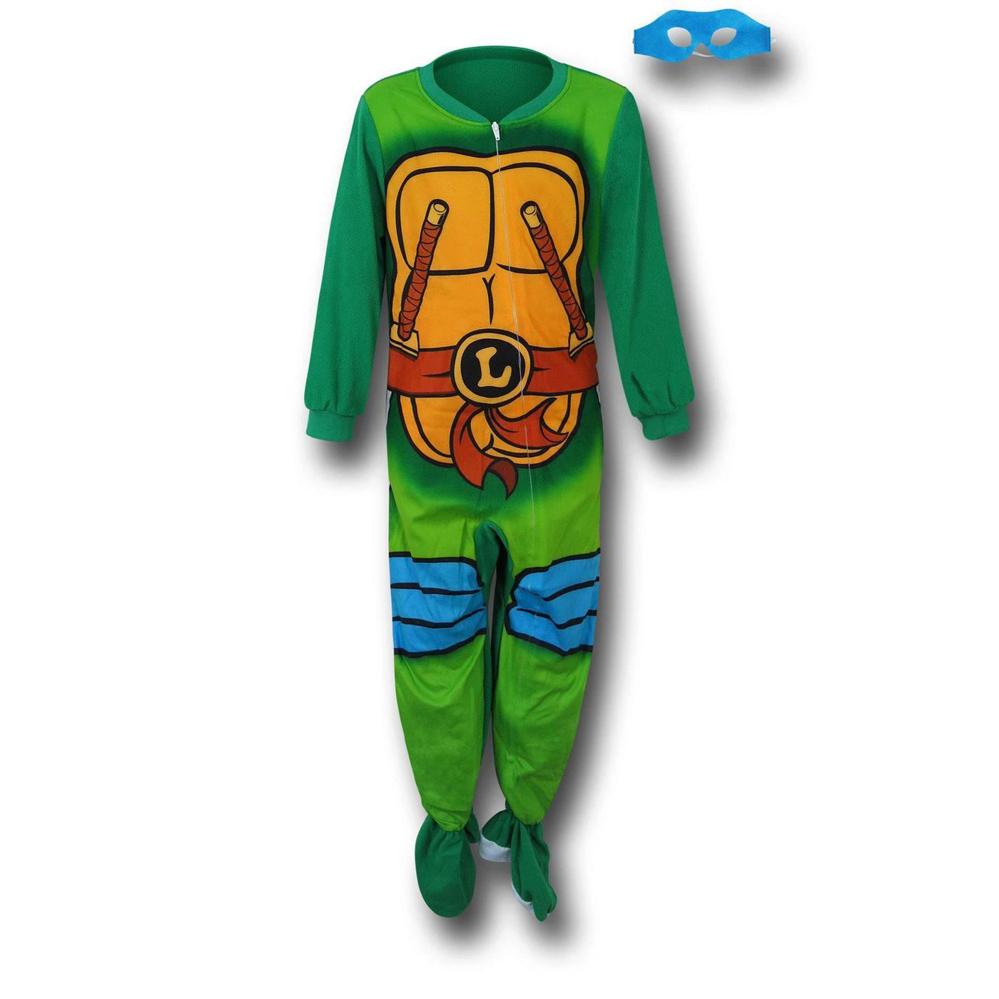 TMNT Leo Costume Kids Romper