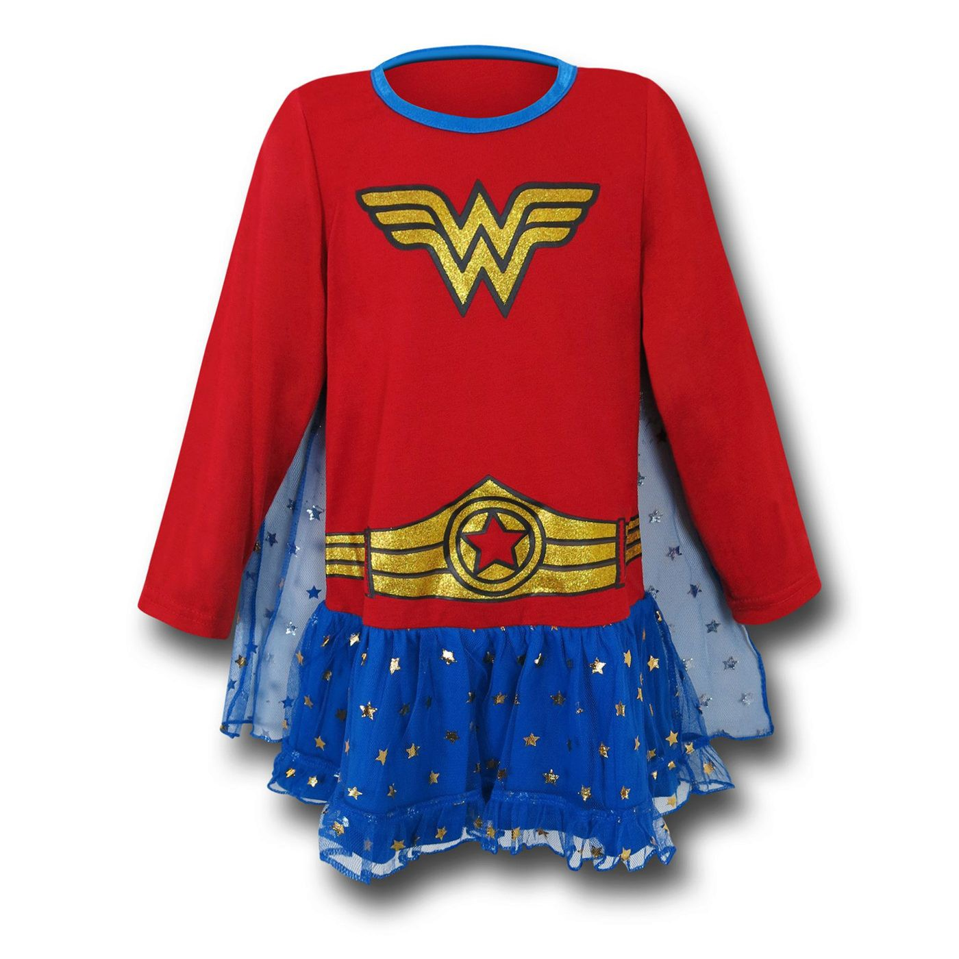 Wonder Woman Costume Kids Pajama Dress