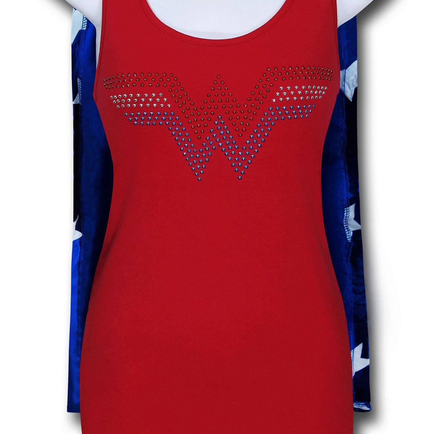 Wonder Woman Women's Caped Sleep Tank Dress