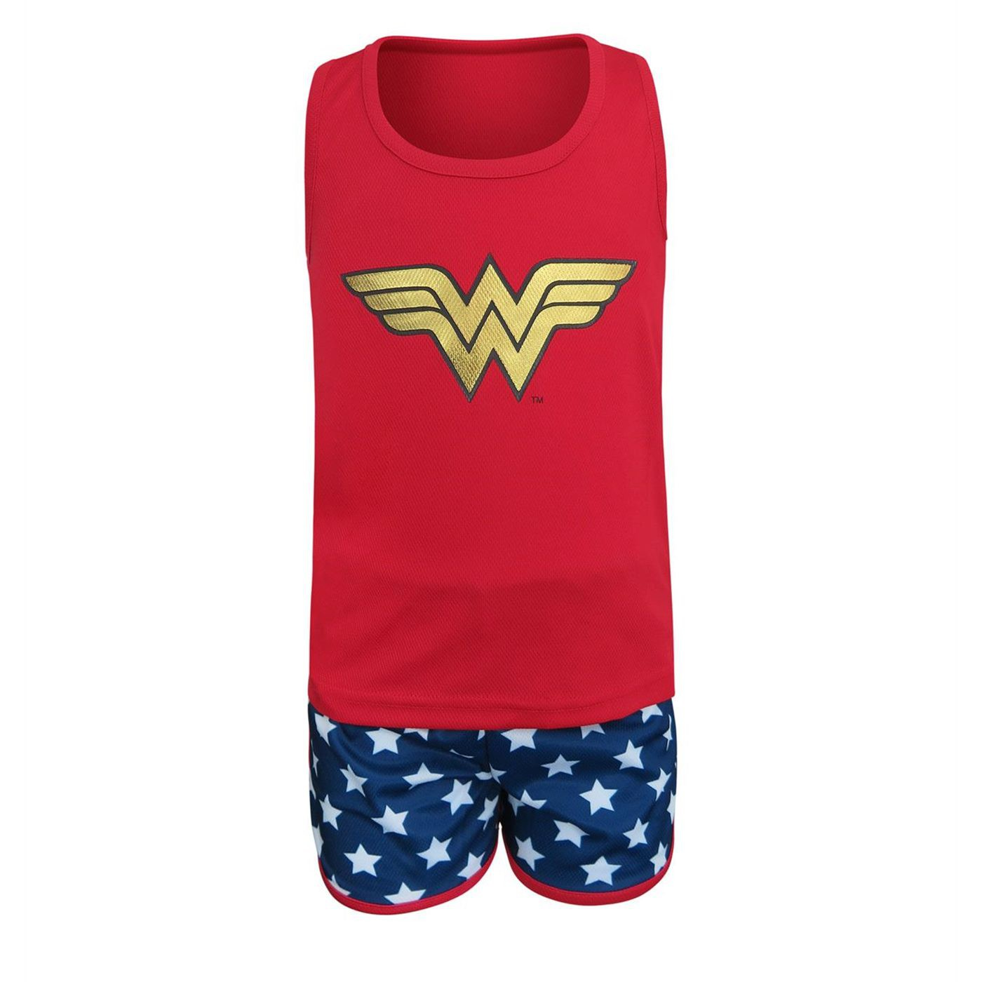 Wonder Woman Kids Tank & Shorts Pajama Set