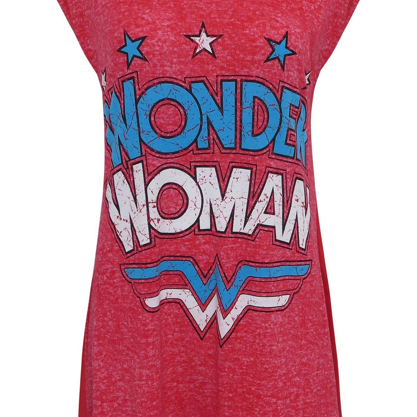 Wonder Woman Logo Women's Sleep Shirt