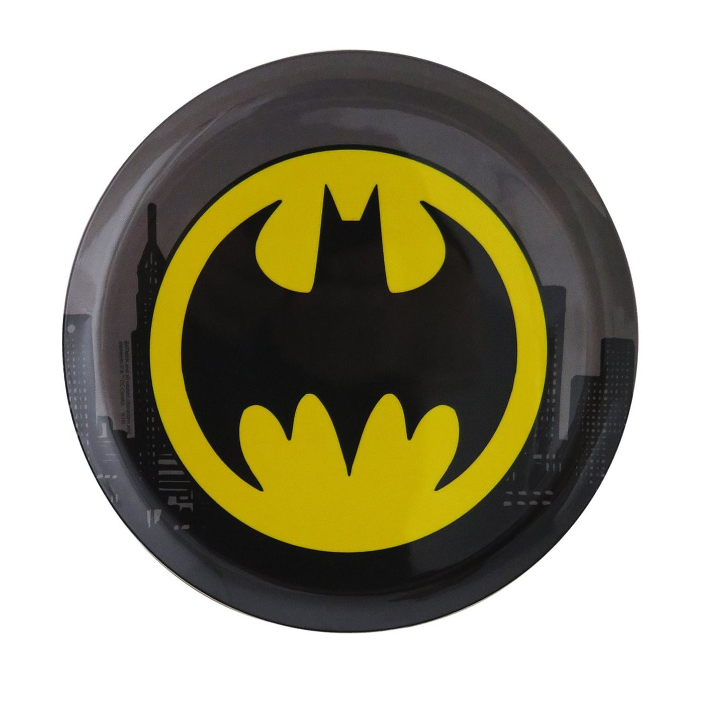 Batman 10-Inch Plastic Dinner Plate