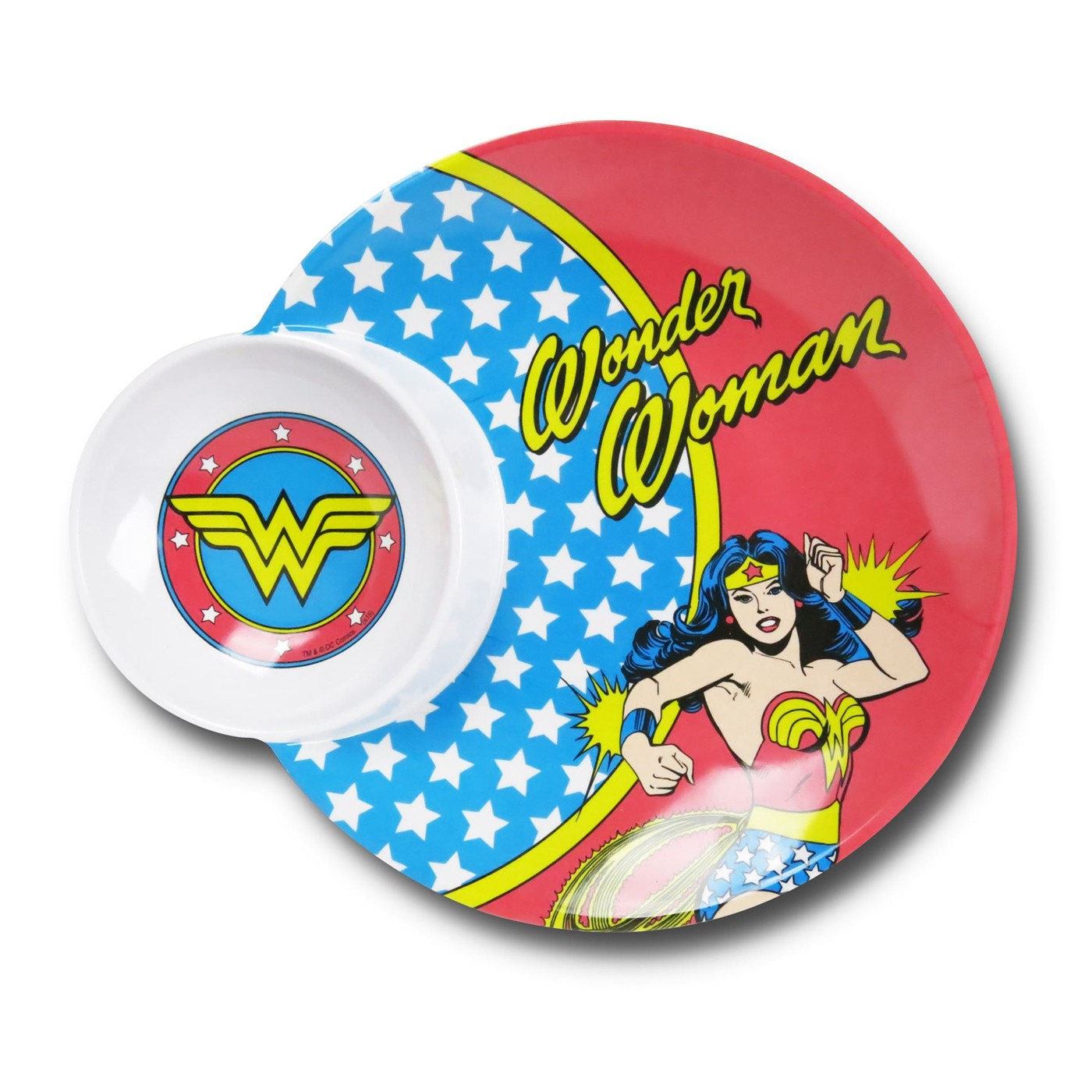 Wonder Woman Party Plate
