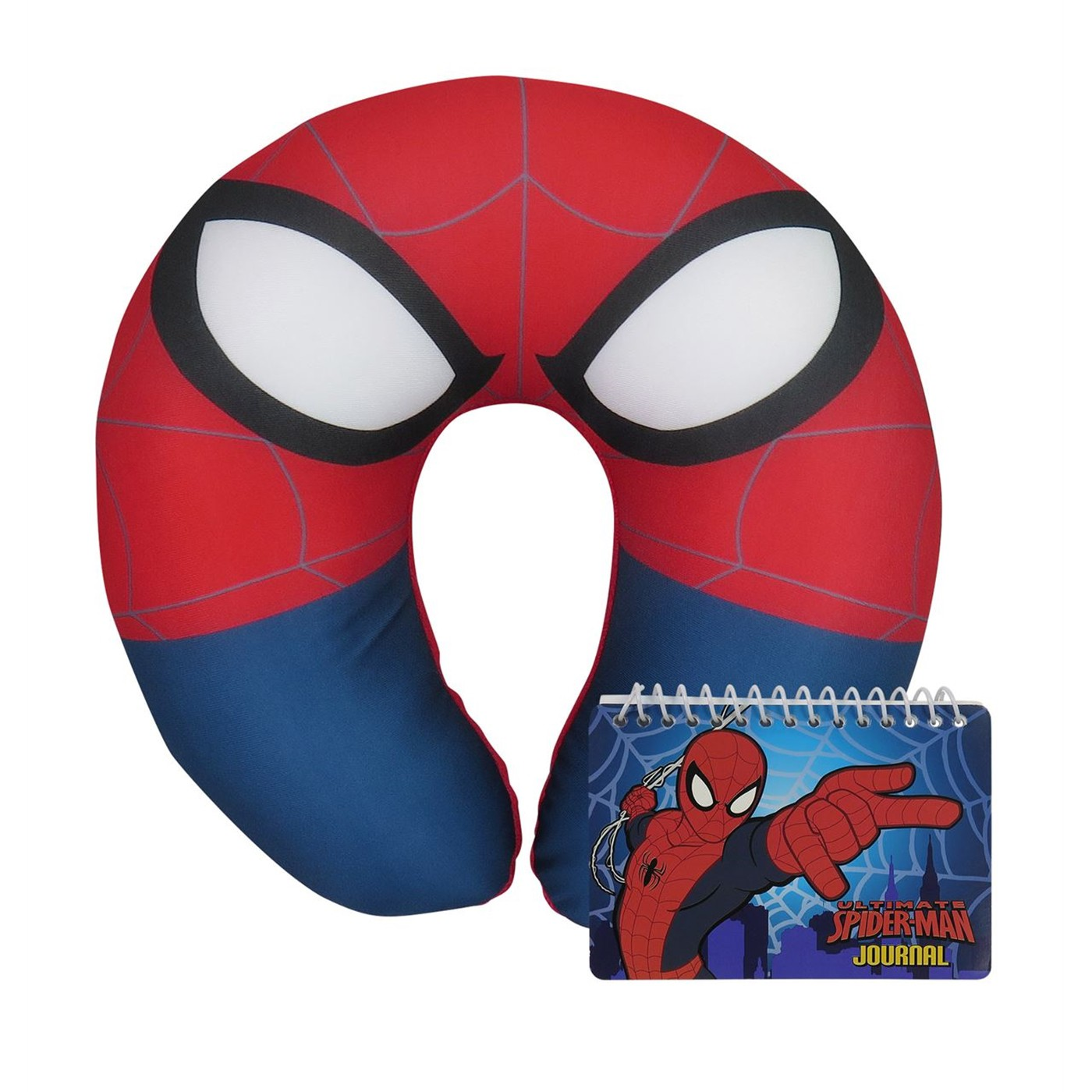 Spiderman Neck Pillow and Journal Book Set