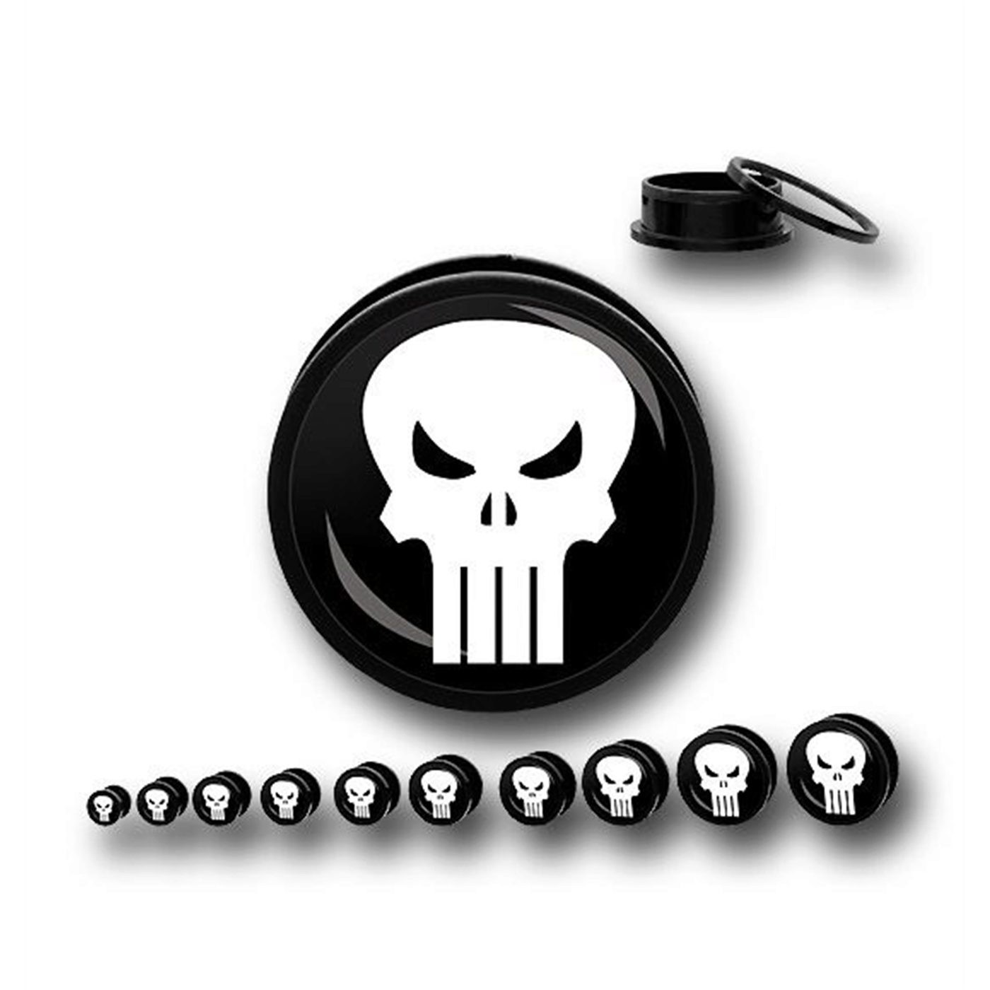 Punisher Acrylic Screw Fit Plugs