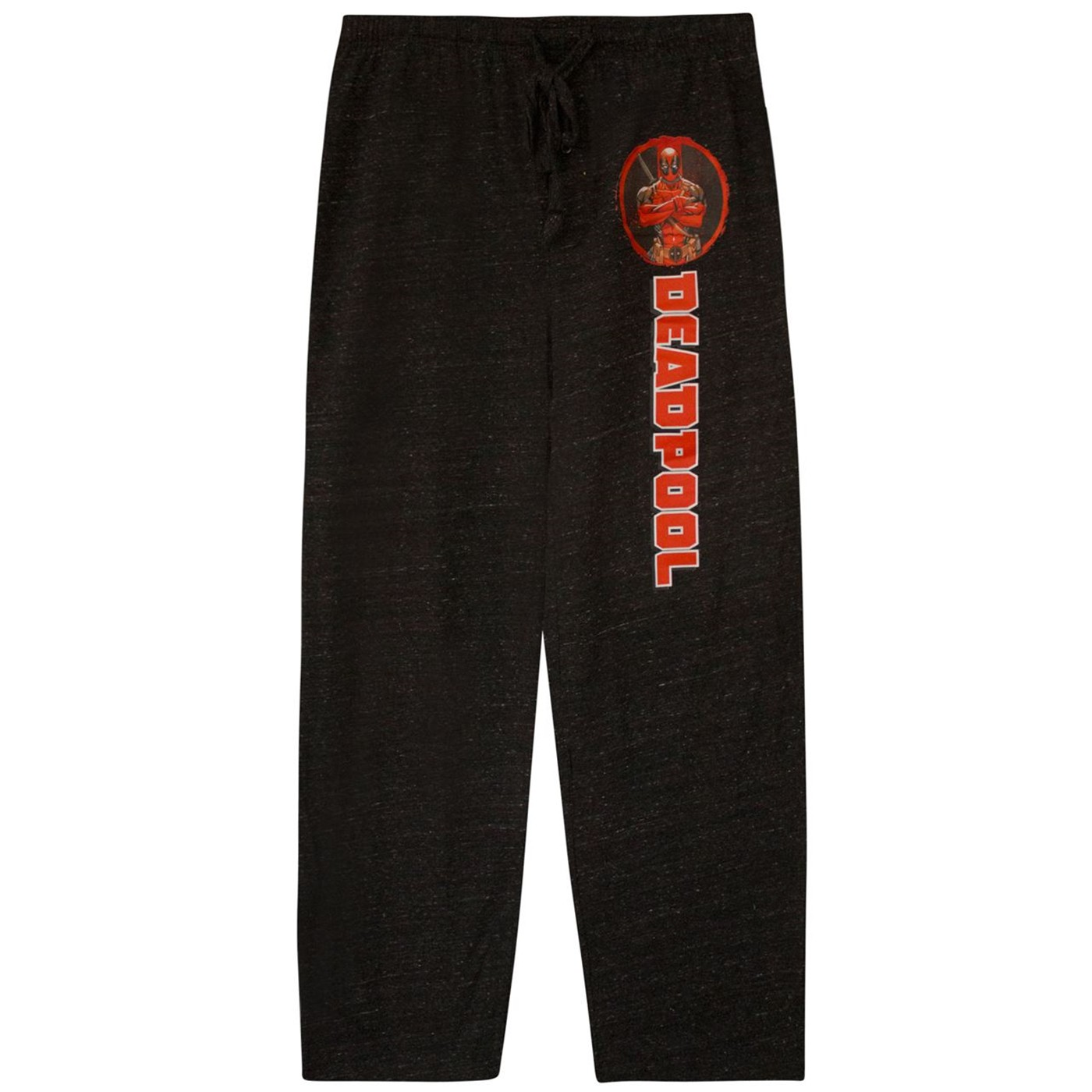 Deadpool Black Heather Sleep Pants