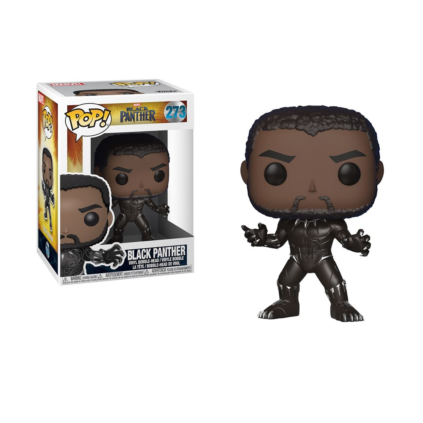 Black Panther Movie Funko Pop Bobble Head