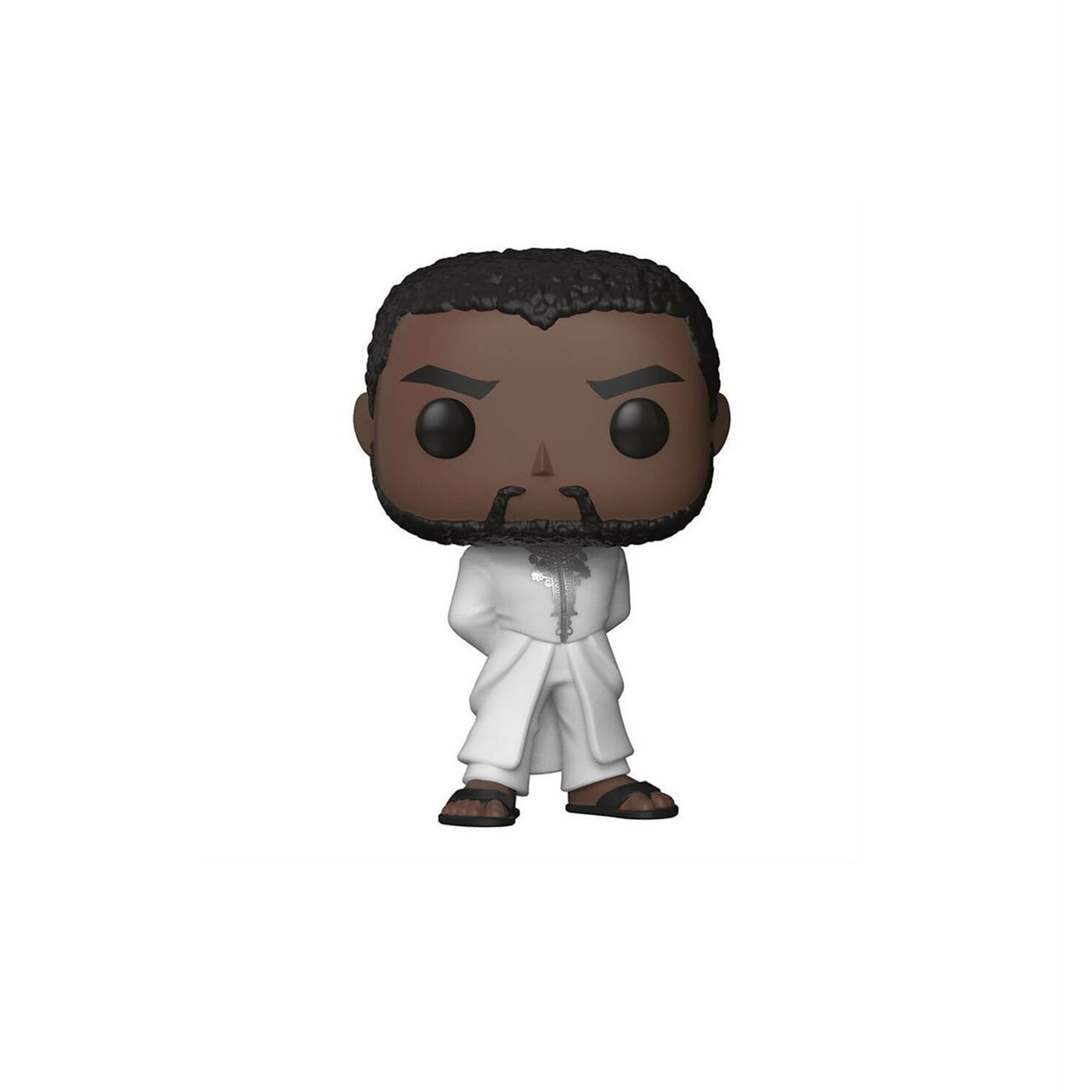 Black Panther in White Robe Funko Pop Bobble Head