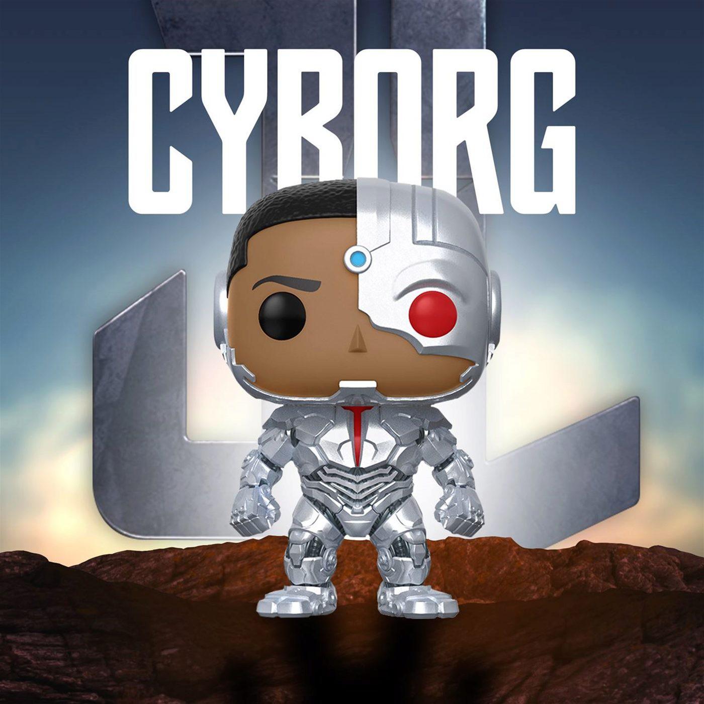 Cyborg Justice League Movie Funko Pop Vinyl Figure