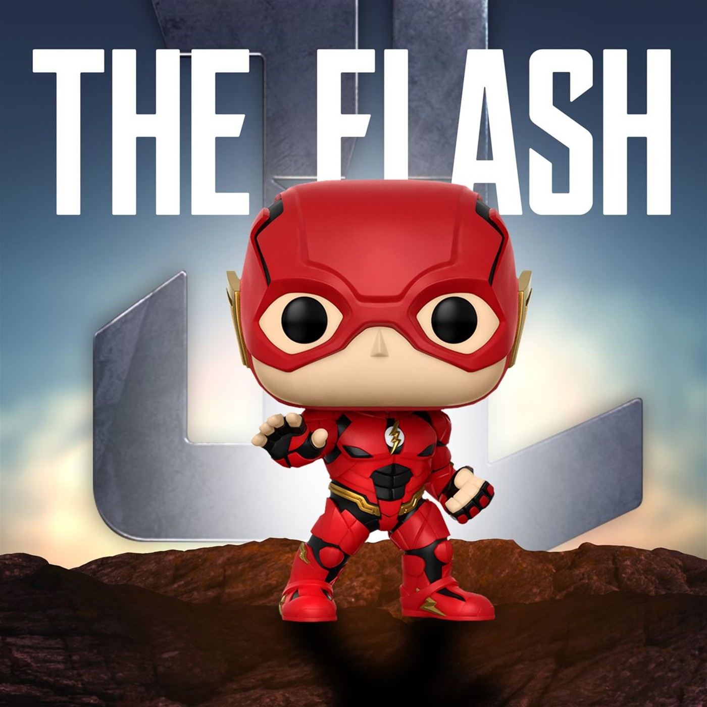 Flash Justice League Movie Funko Pop Vinyl Figure