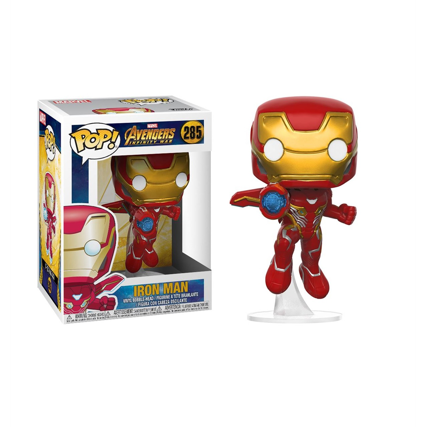 Avengers Infinity War Iron Man Funko Pop Bobble Head