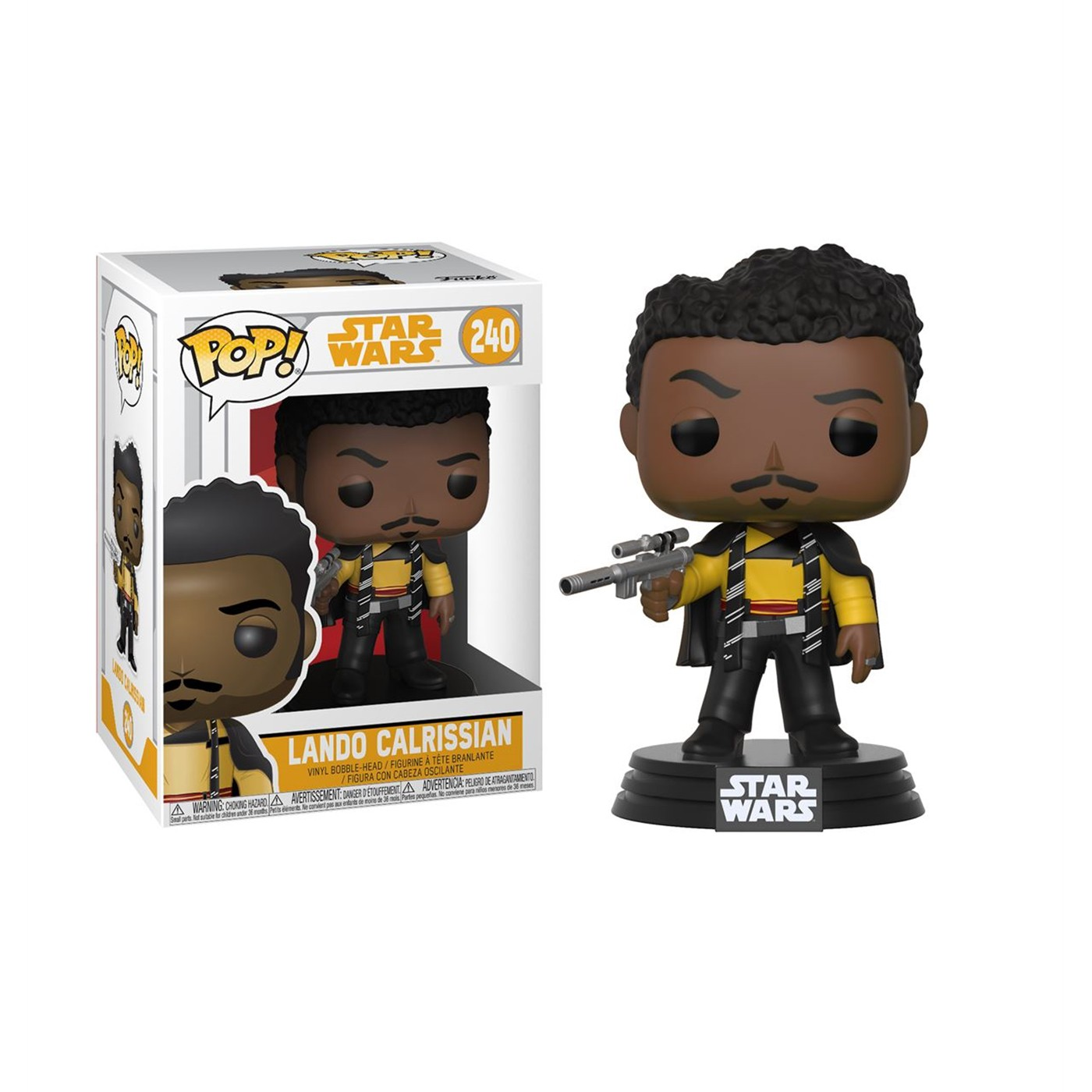 Star Wars Solo Lando Calrissian Funko Pop Bobble Head