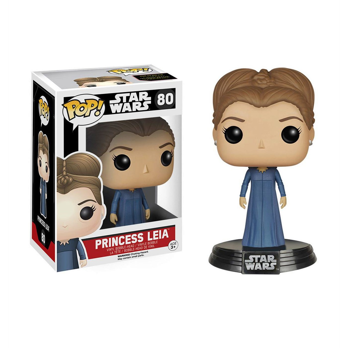 Star Wars The Force Awakens Leia Pop Bobblehead