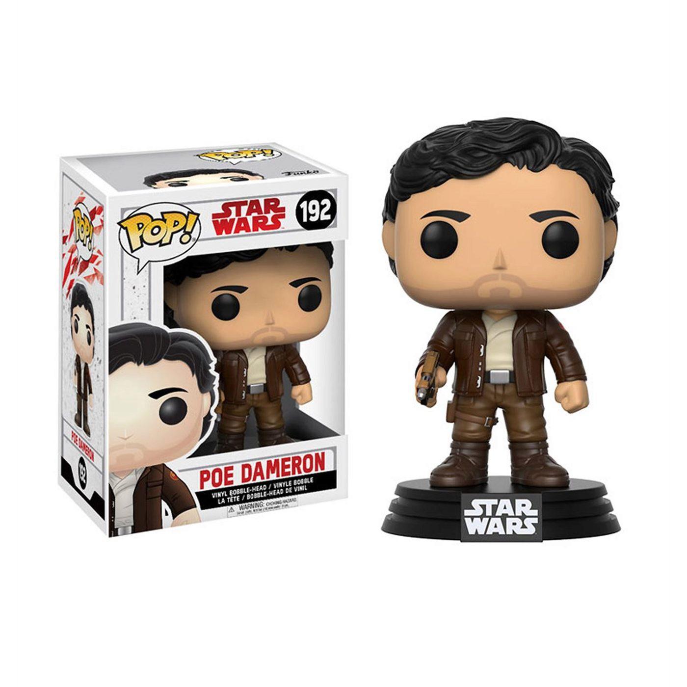 Star Wars Last Jedi Poe Dameron Funko Pop Bobble Head