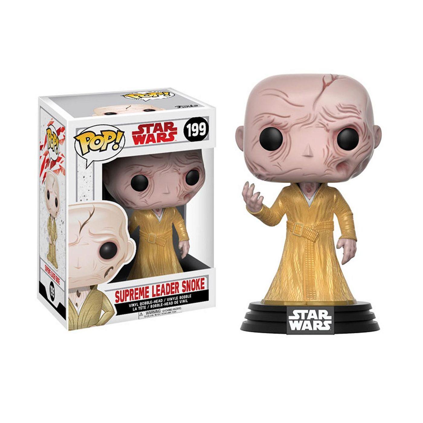 Star Wars Last Jedi Supreme Leader Snoke Pop Bobble Head