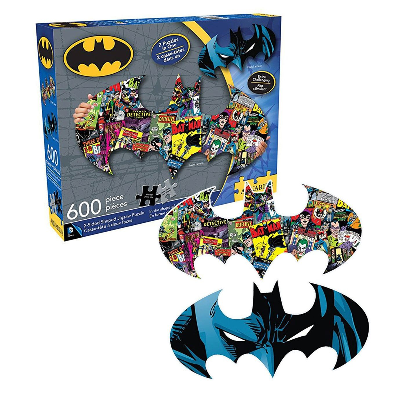 Batman Symbol 600pc Double-Sided Puzzle