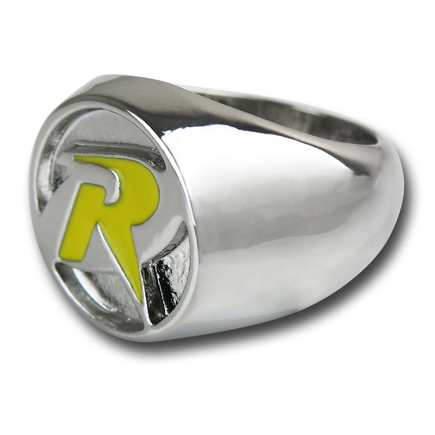 Robin Symbol Nickel Ring