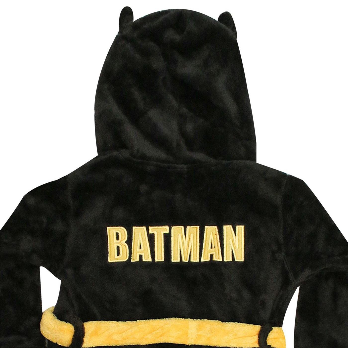 Batman Bruce Wayne Kids Hooded Robe