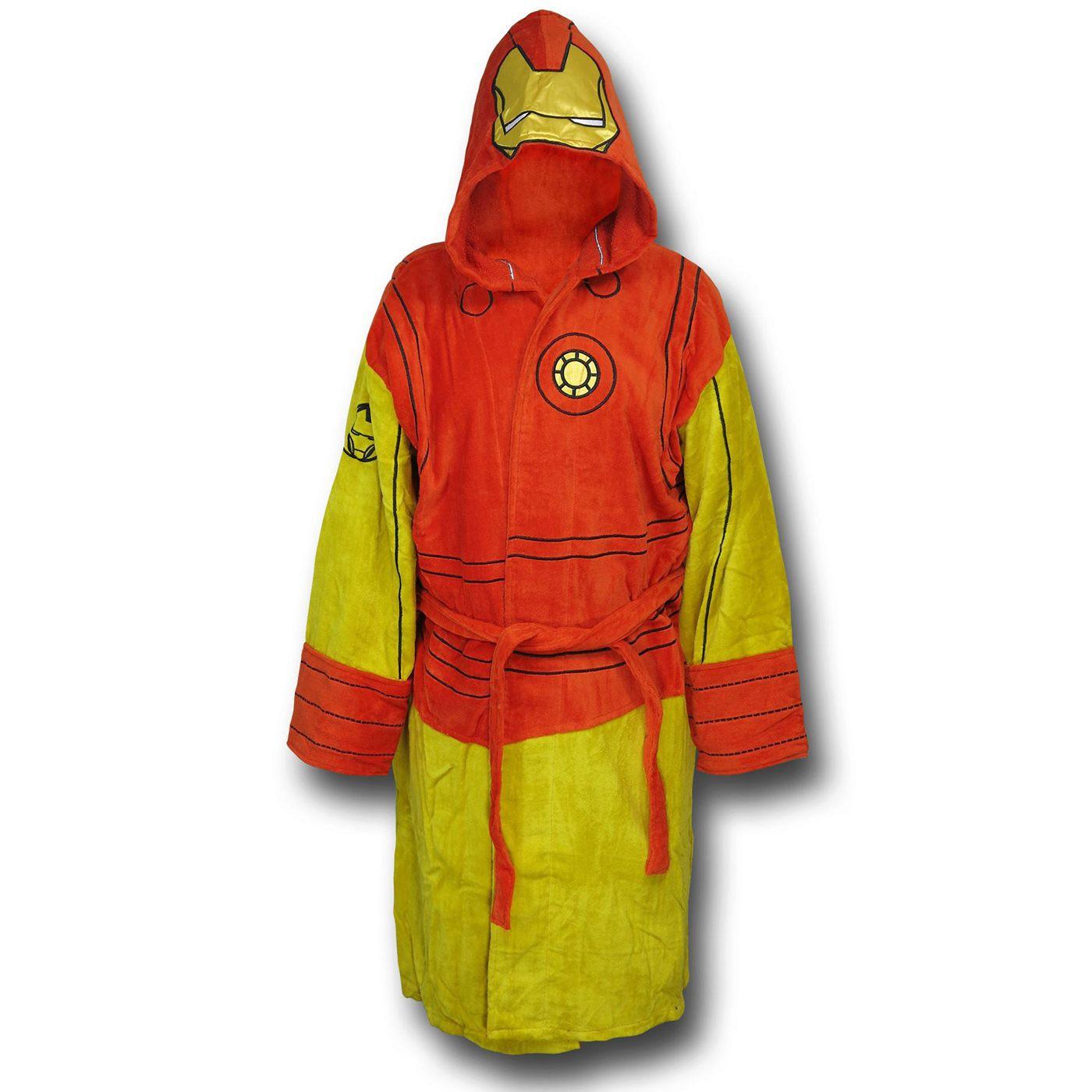 Iron Man Hooded Robe