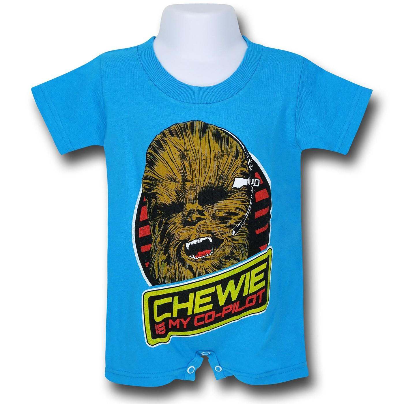 Star Wars Chewbacca Infant Romper