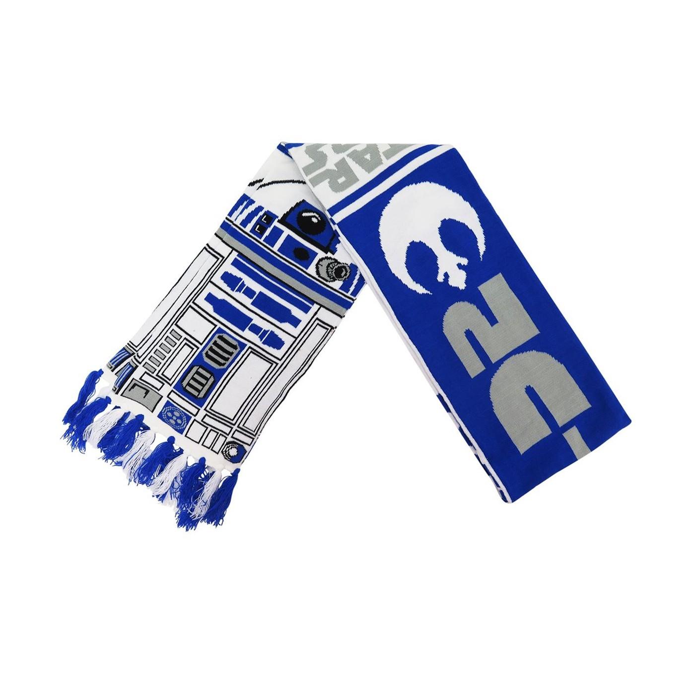 Star Wars R2-D2 Knit Scarf