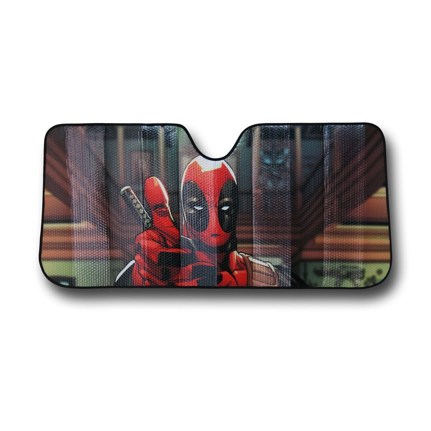 Deadpool Thumbs Up Car Sunshade