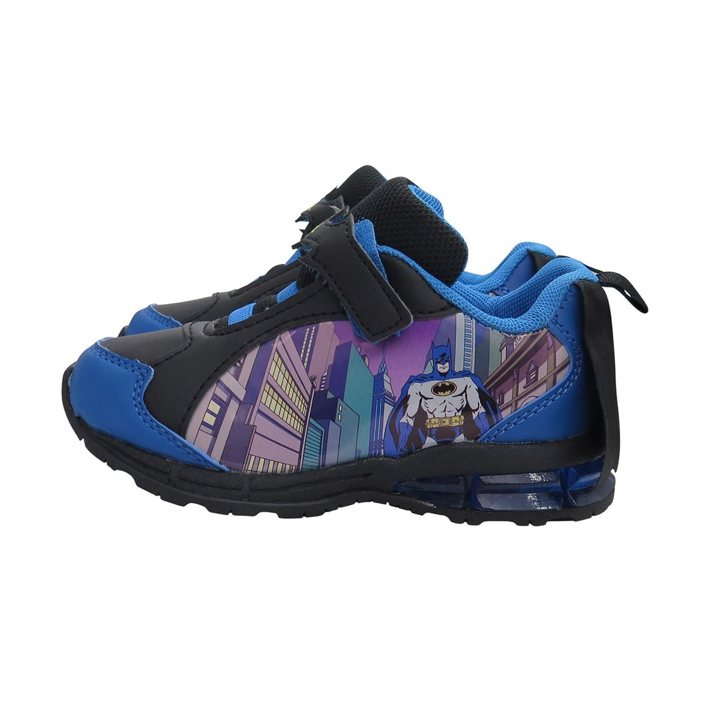 Batman Cityscape Kids Caped Sneakers