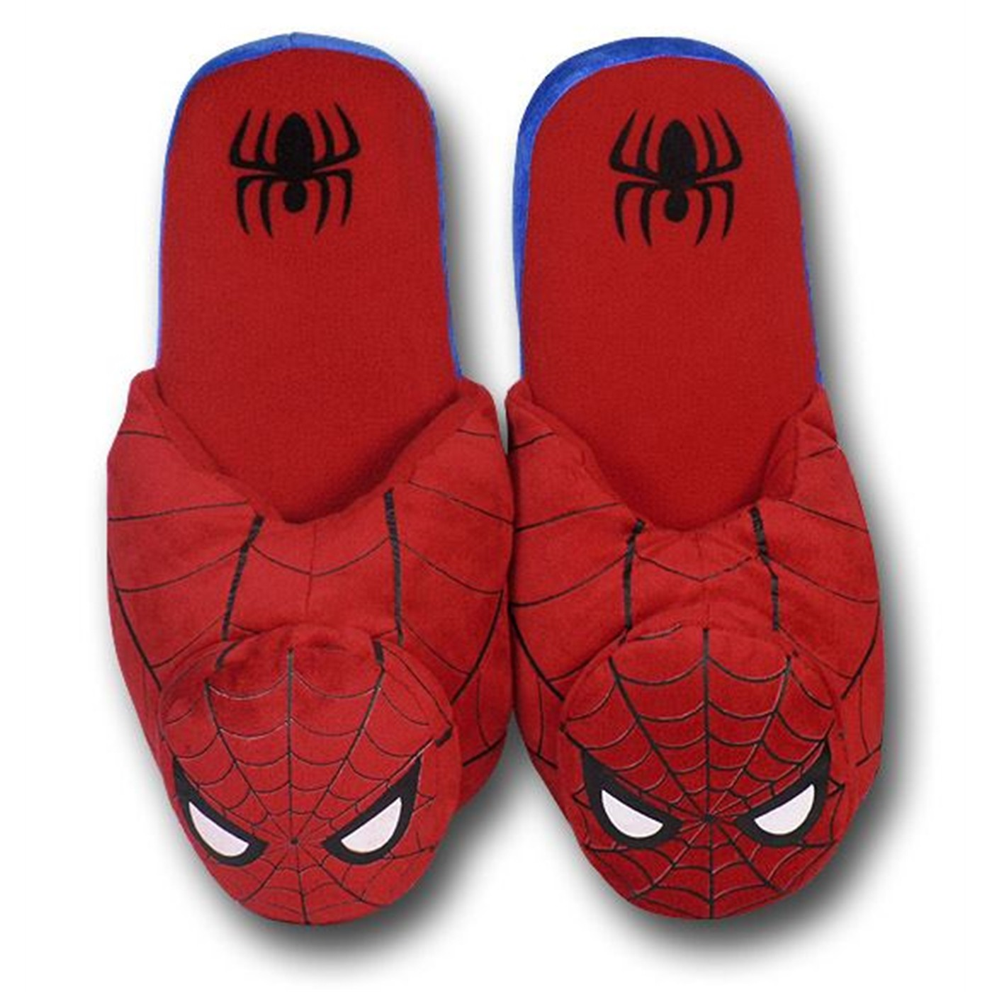 Spiderman 3D Mask Slippers