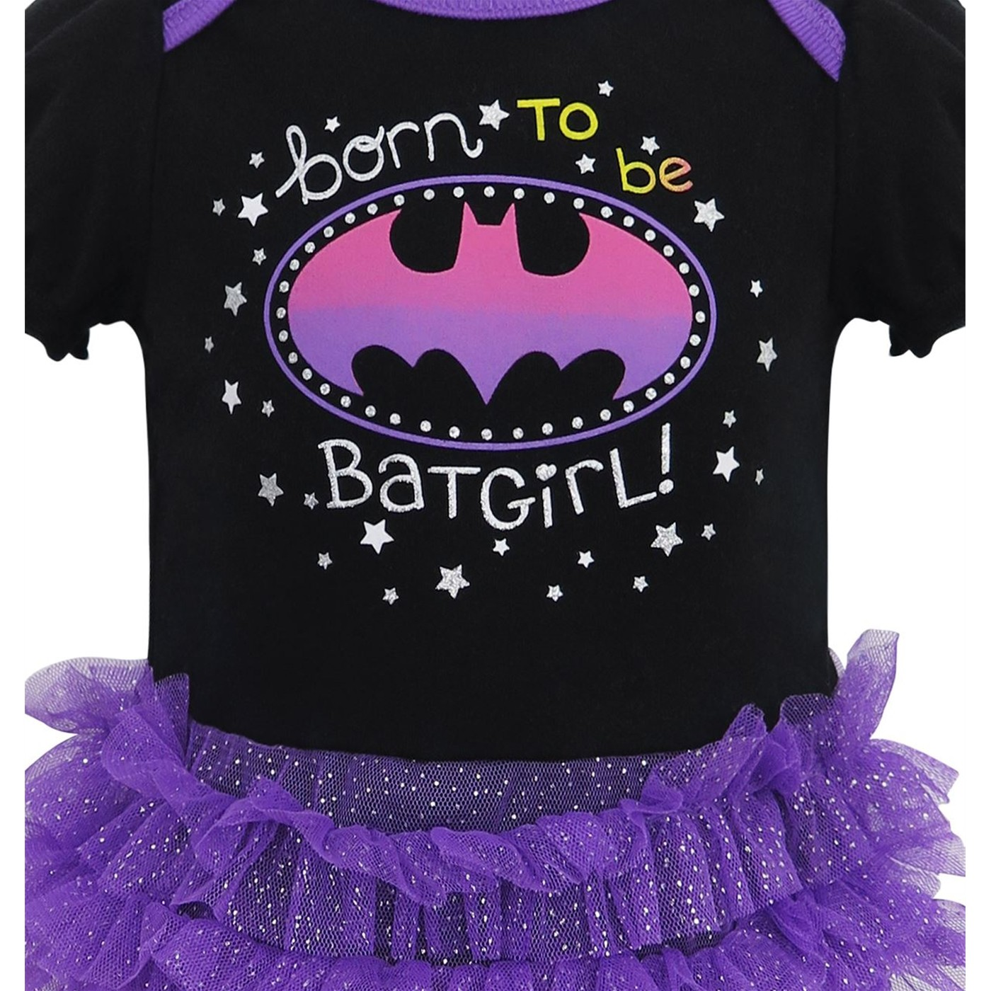 Batgirl Born to Be Snapsuit with Tutu