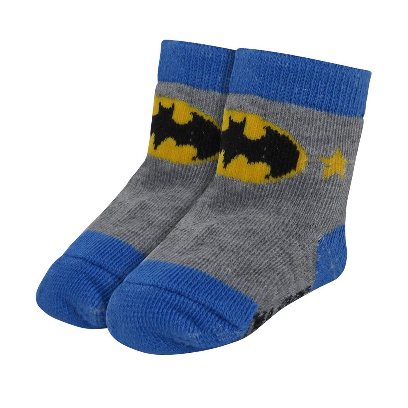 Batman Classic Infant Socks 6-Pack