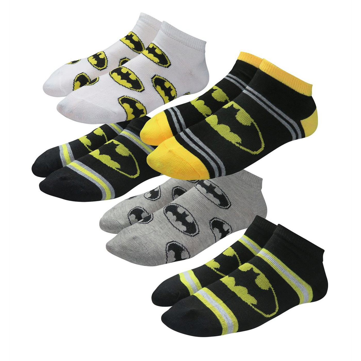 Batman Symbols Kids Sock 5 Pack