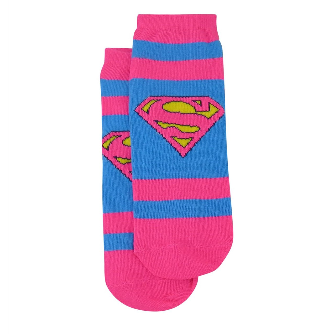 DC Trinity Women's Striped Low-Cut Sock 3 Pack