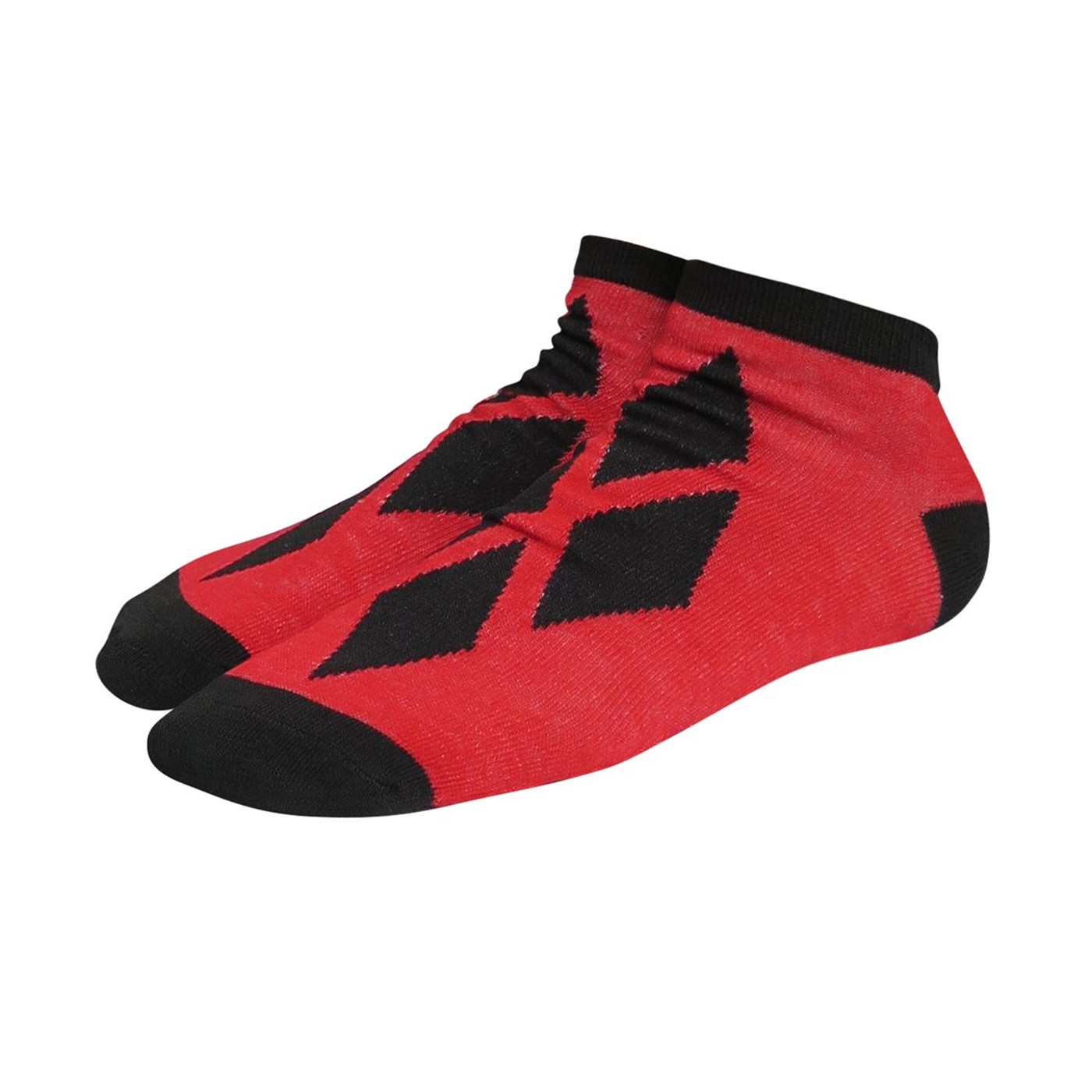 Harley Quinn Kawaii Women's Low-Cut Sock 2 Pack