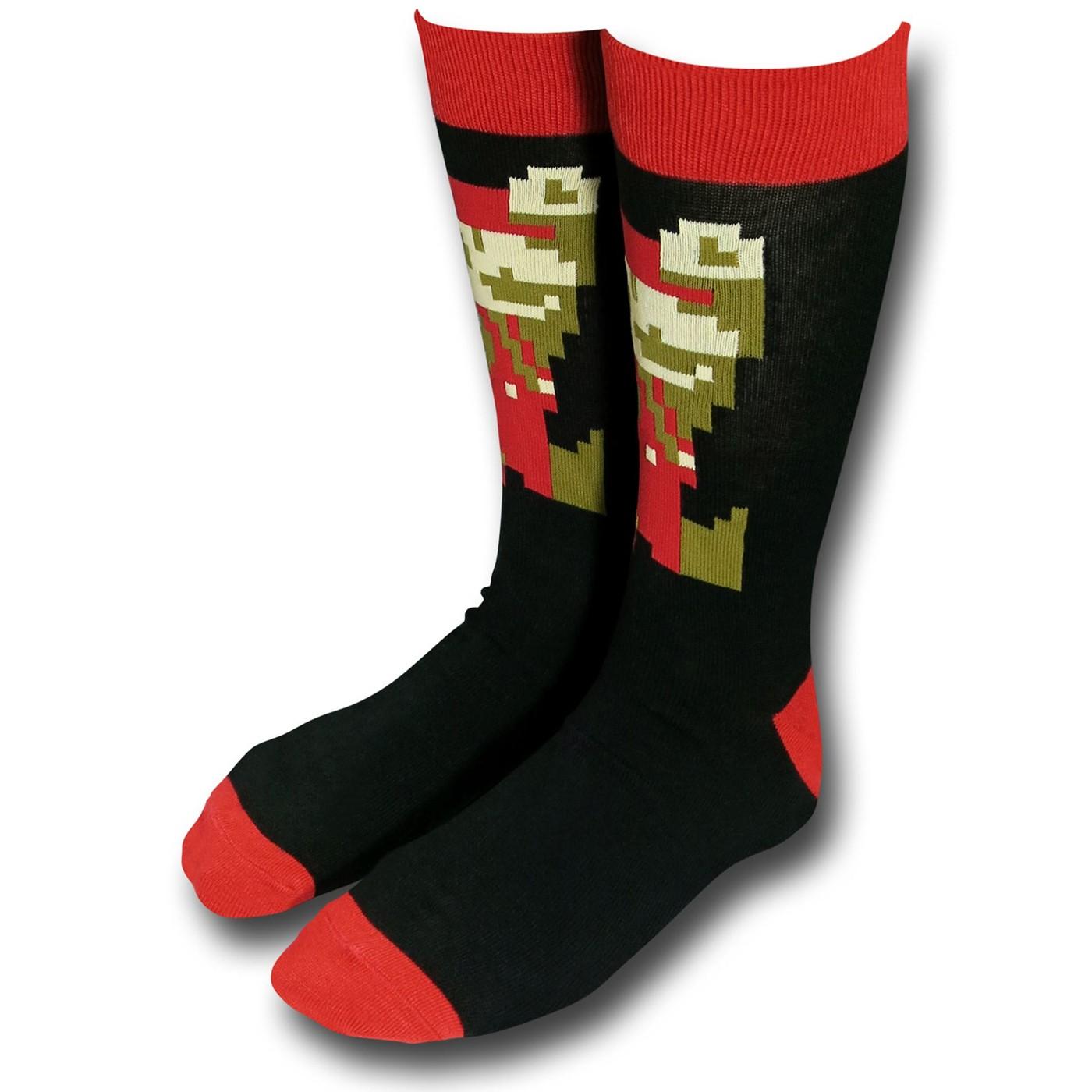 Nintendo Mario Jumping Crew Socks