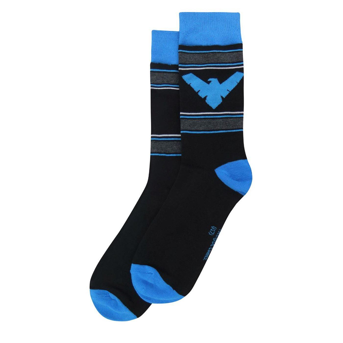 Nightwing Athletic Crew Socks