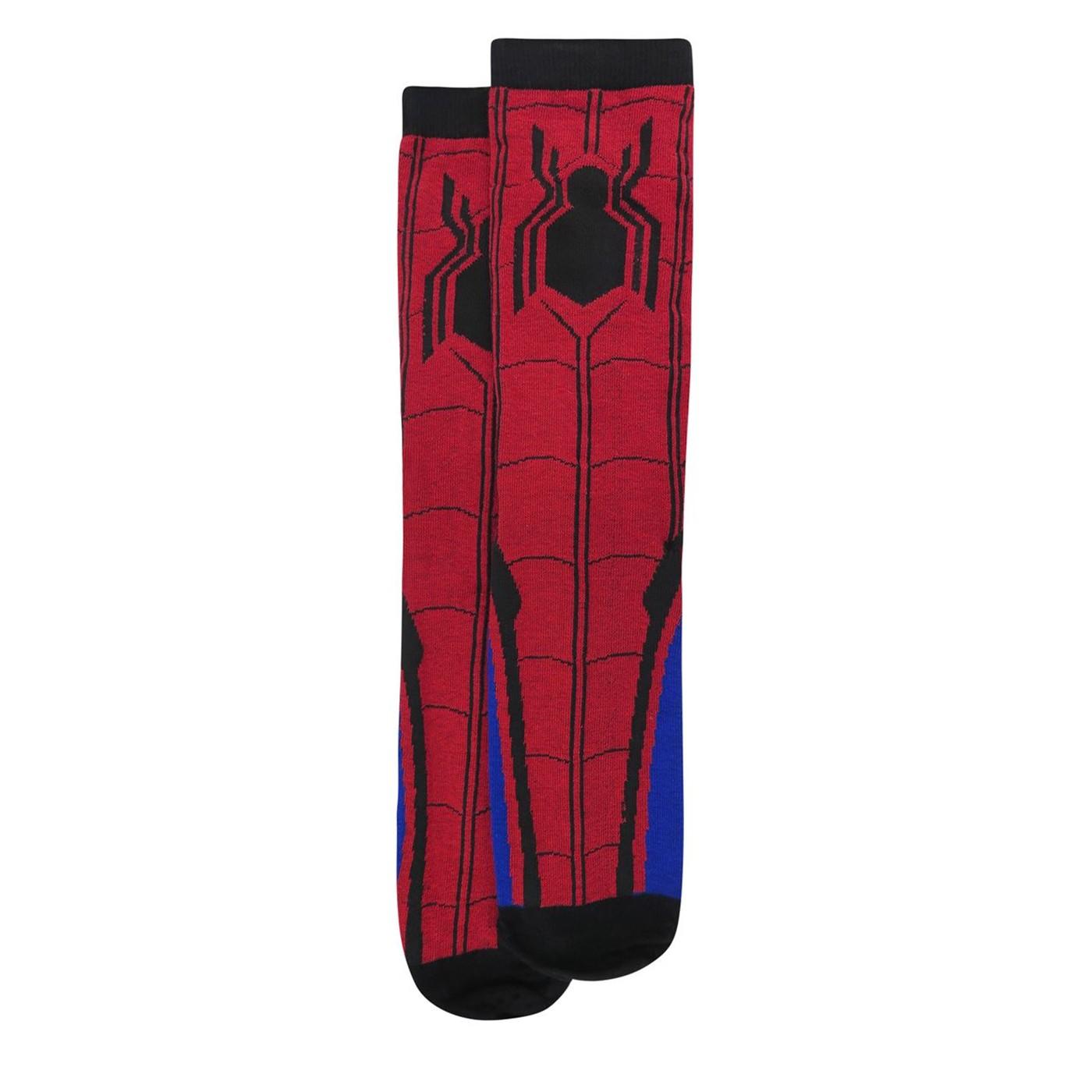 Spider-Man Homecoming Costume Crew Socks