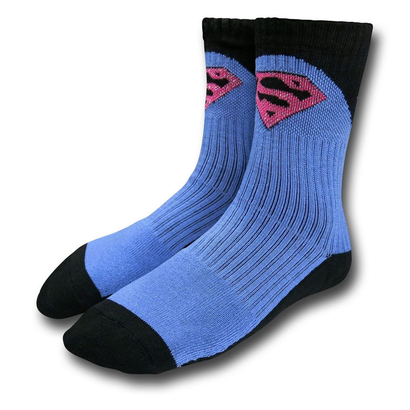 Superman Symbol Girls Socks