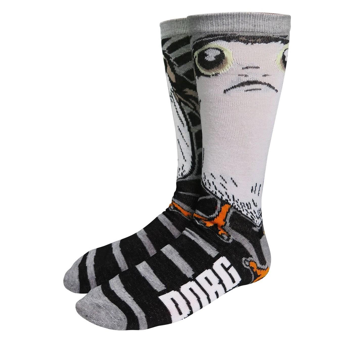 Star Wars Sad Porg Crew Socks
