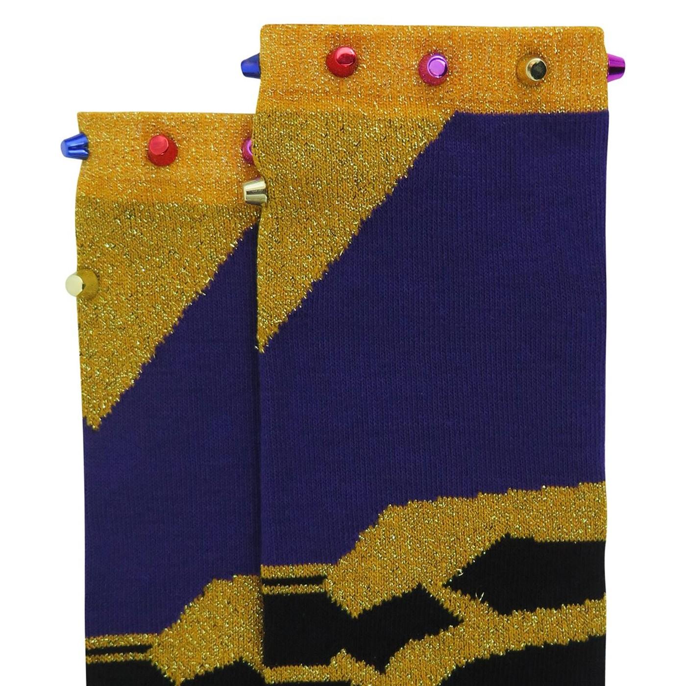 Avengers Infinity War Thanos Women's Knee High Socks